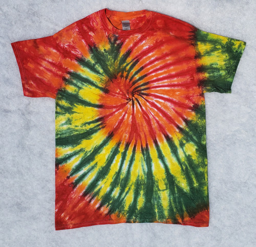 Jazzy Tie Dye  (short and long sleeve options)