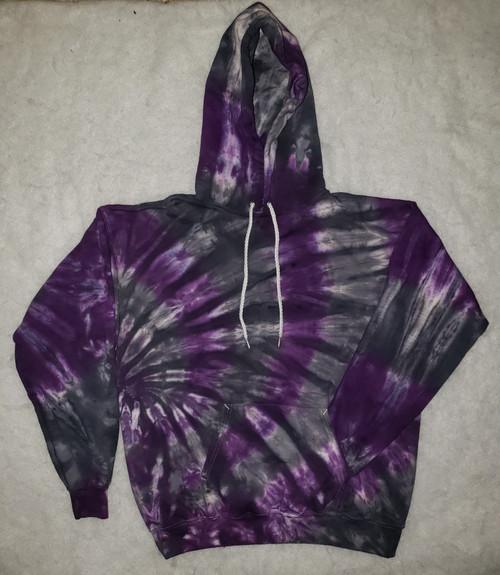 Purple Bliss Tie Dye Hoodie