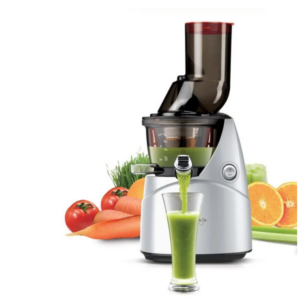 KUVINGS C6500 Professional  Cold Pressed Juicer: Silver