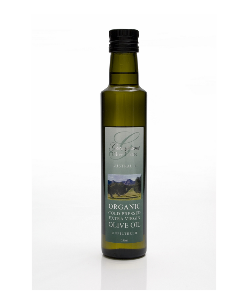 Grampians Organic Cold Pressed Extra Virgin Olive Oil 250ml