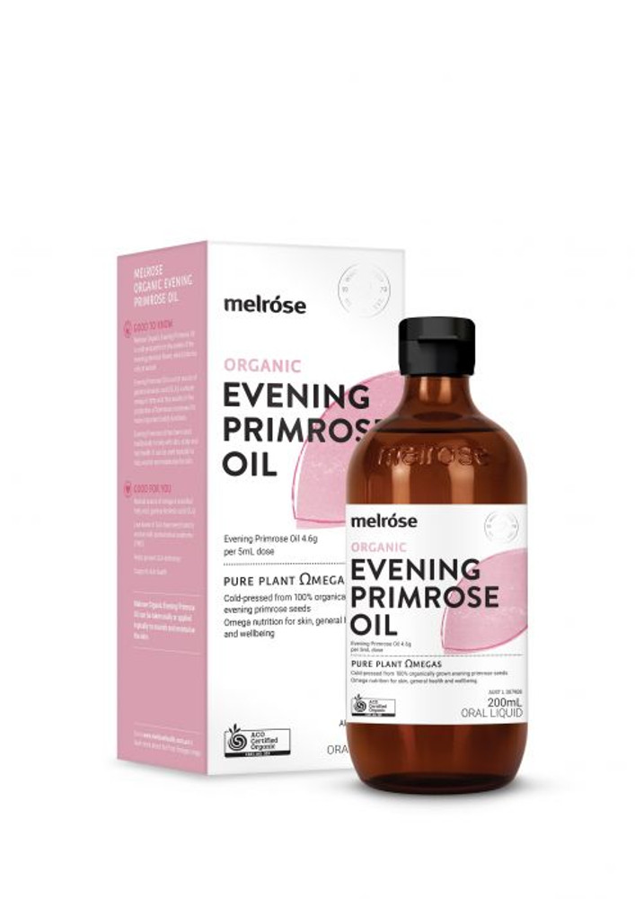 Melrose ORGANIC Evening Primrose Oil 200ml