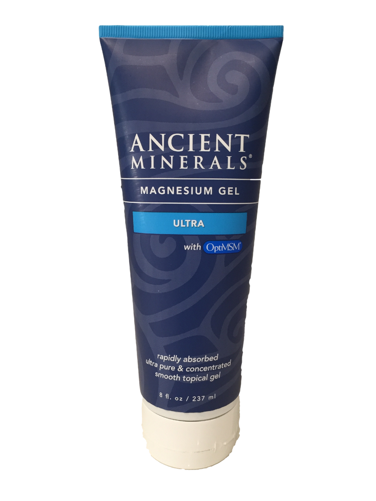 Ancient Minerals Magnesium GEL Ultra with MSM: 237ml