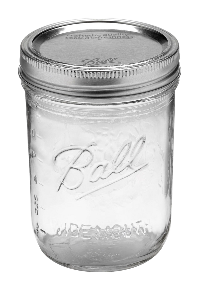 SET OF 6 FREEZER SAFE BPA FREE STOCK JARS
