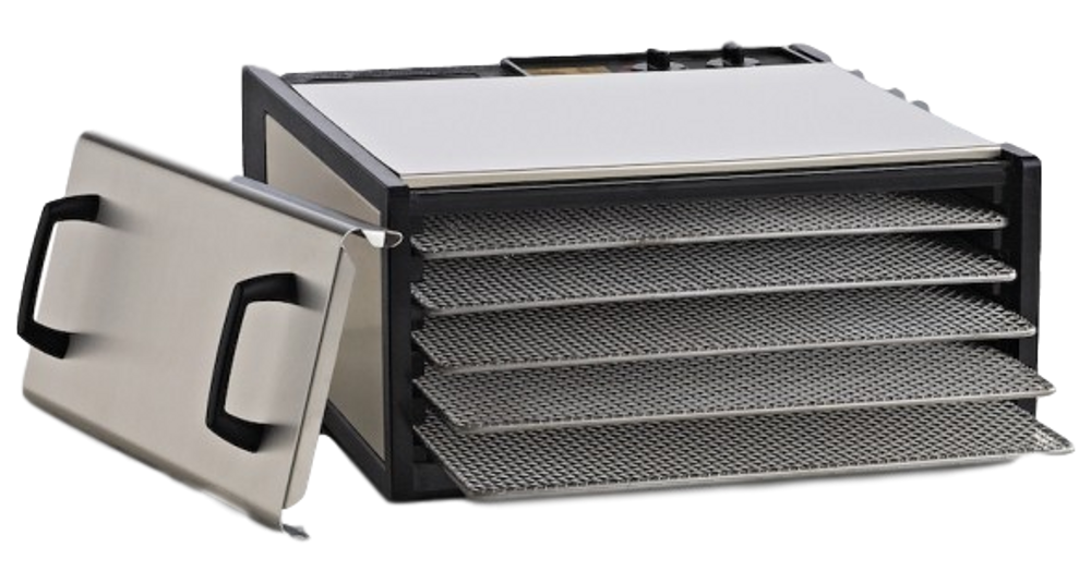 Excalibur Food Dehydrator: 5 tray with timer and stainless steel trays