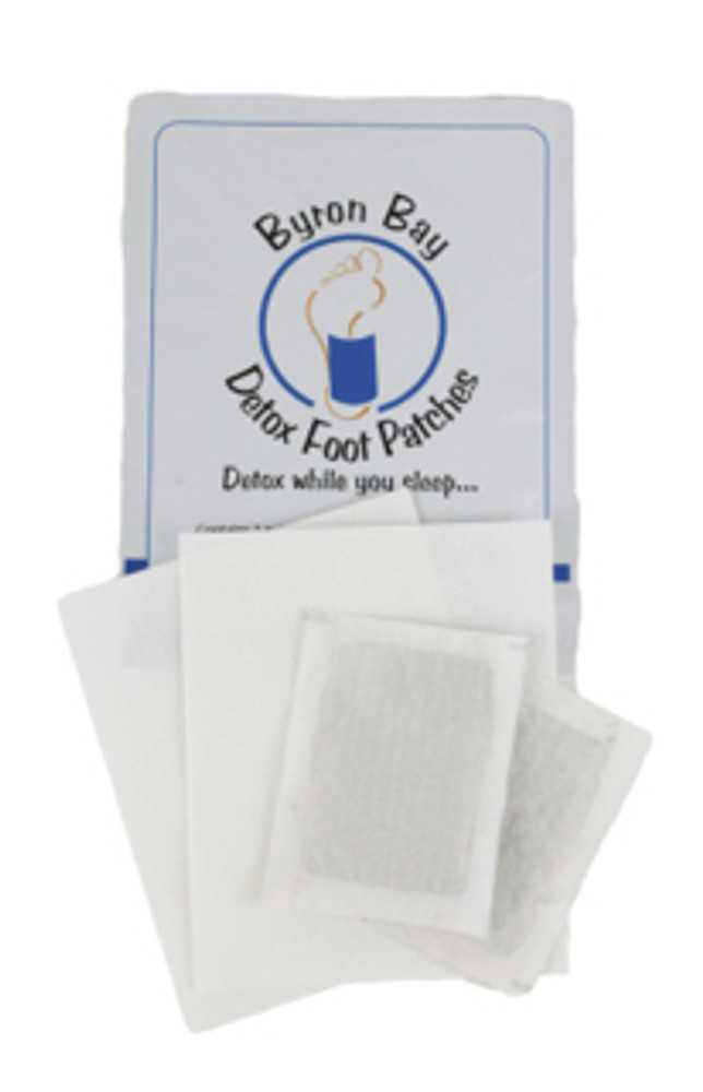 SAMPLE: Byron Bay Foot Detox Patches: 2 Patches (1 Pair)