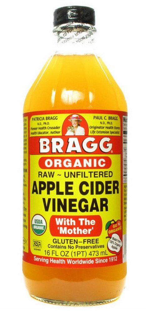 Bragg Raw Apple Cider Vinegar Organic: 473ml