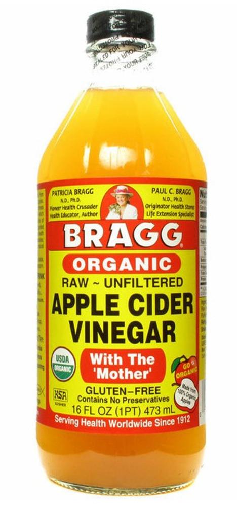 Bragg Raw Apple Cider Vinegar Organic: 473ml