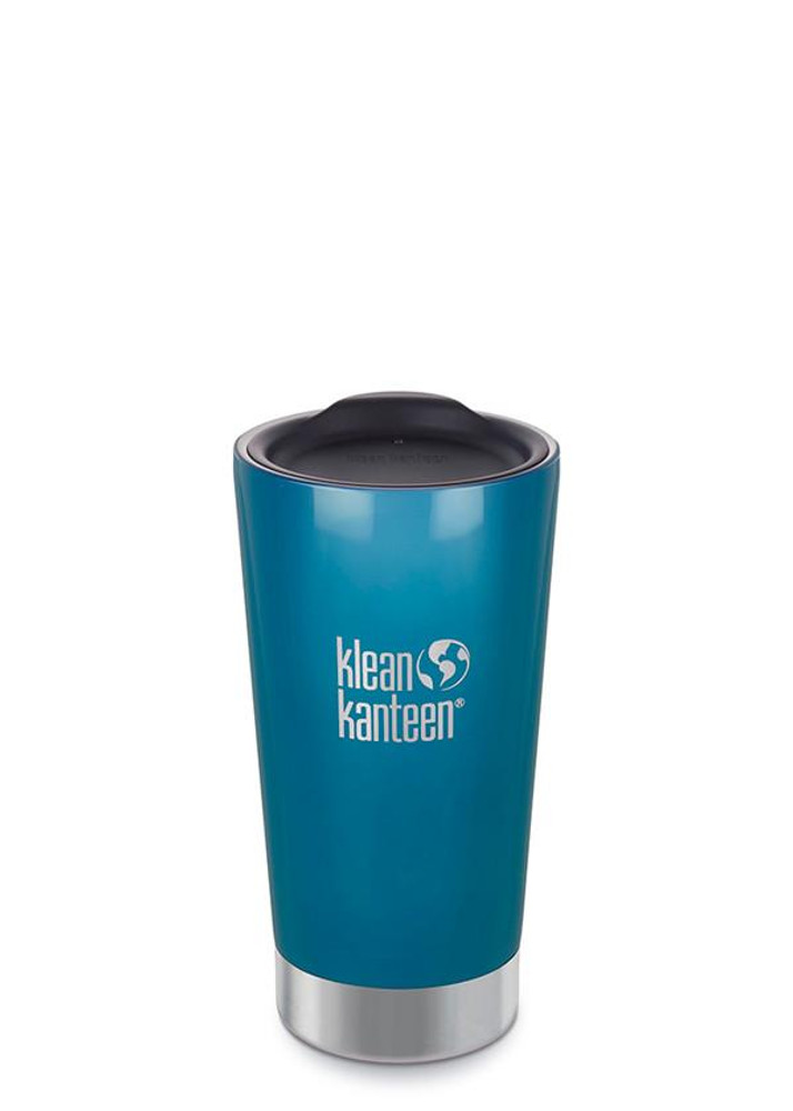 CAFE OR CHILL INSULATED TUMBLER: 473ml BLUE