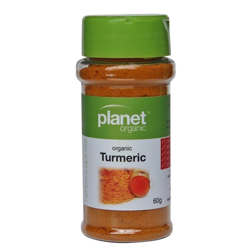 Planet Organic - Turmeric 60g
