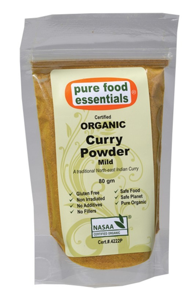 Pure Food Essentials - Organic Curry Powder Mild 80g