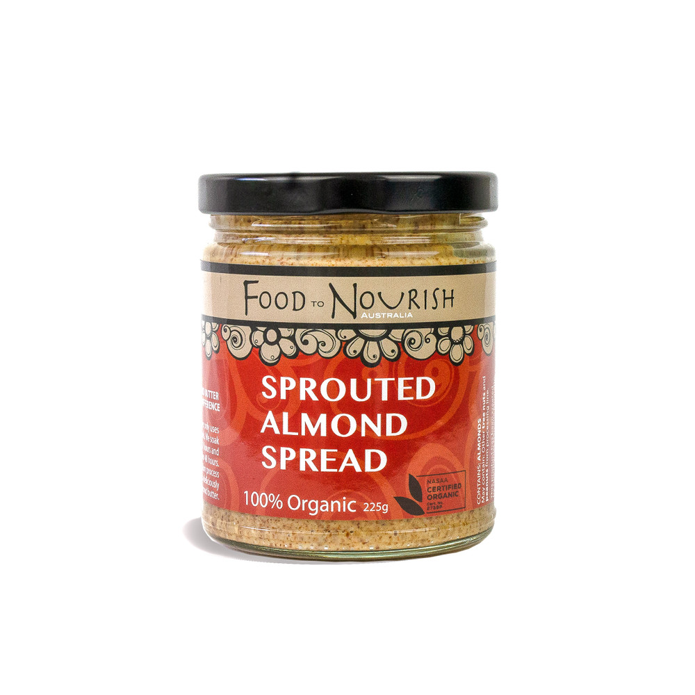 Sprouted Organic Almond Spread - 225g