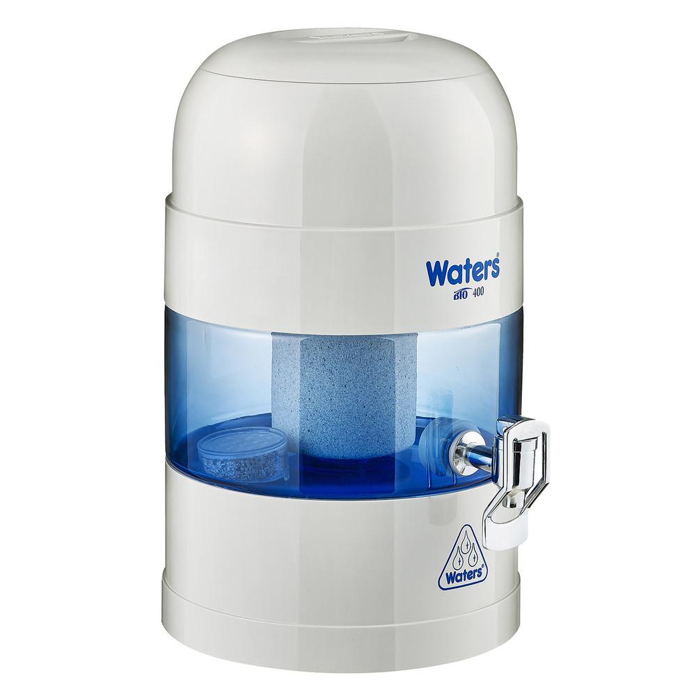Benchtop Water Filter: BIO 400 WHITE / GREY 5.25 Litre