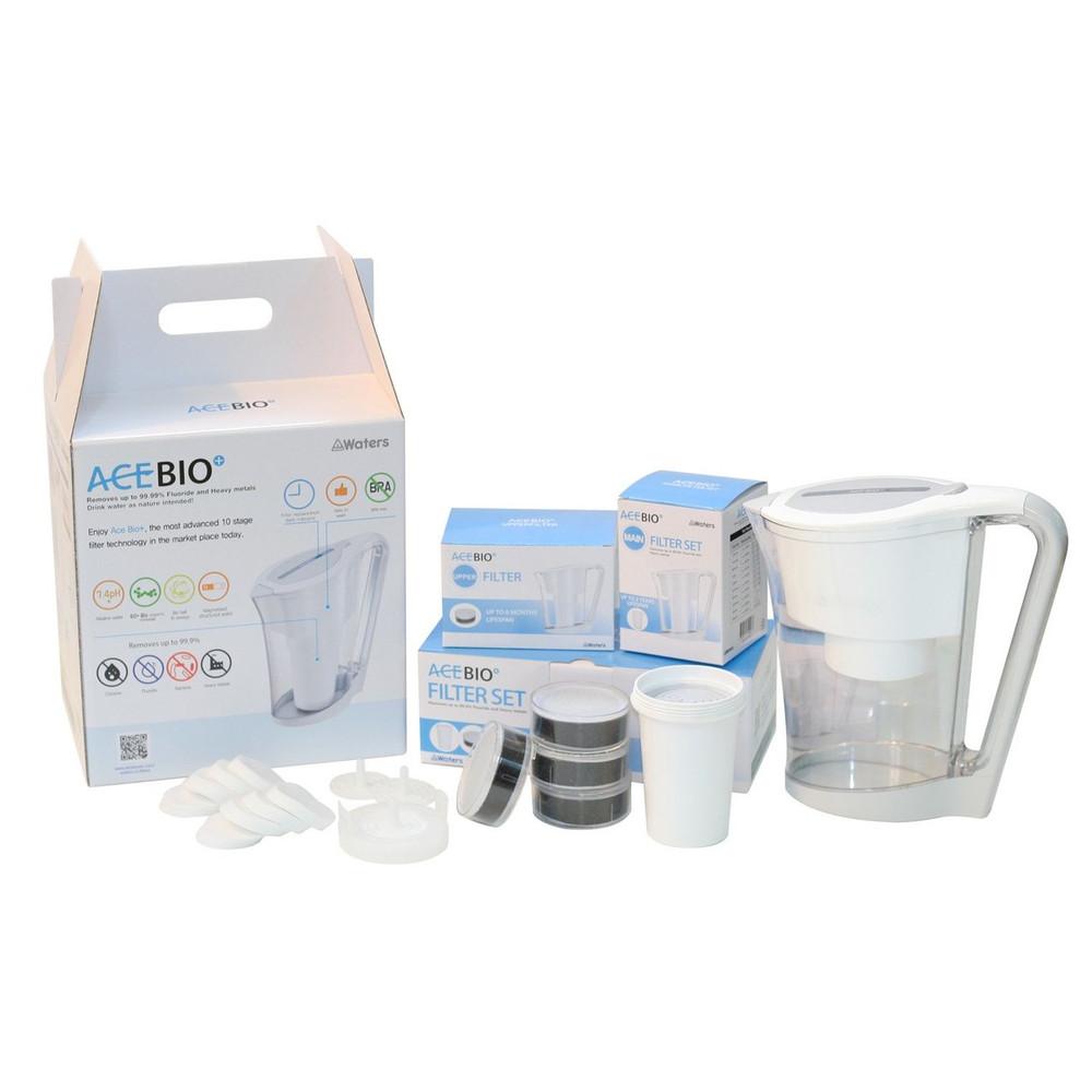 AceBio Jug 1 litre Replacement Filter Set