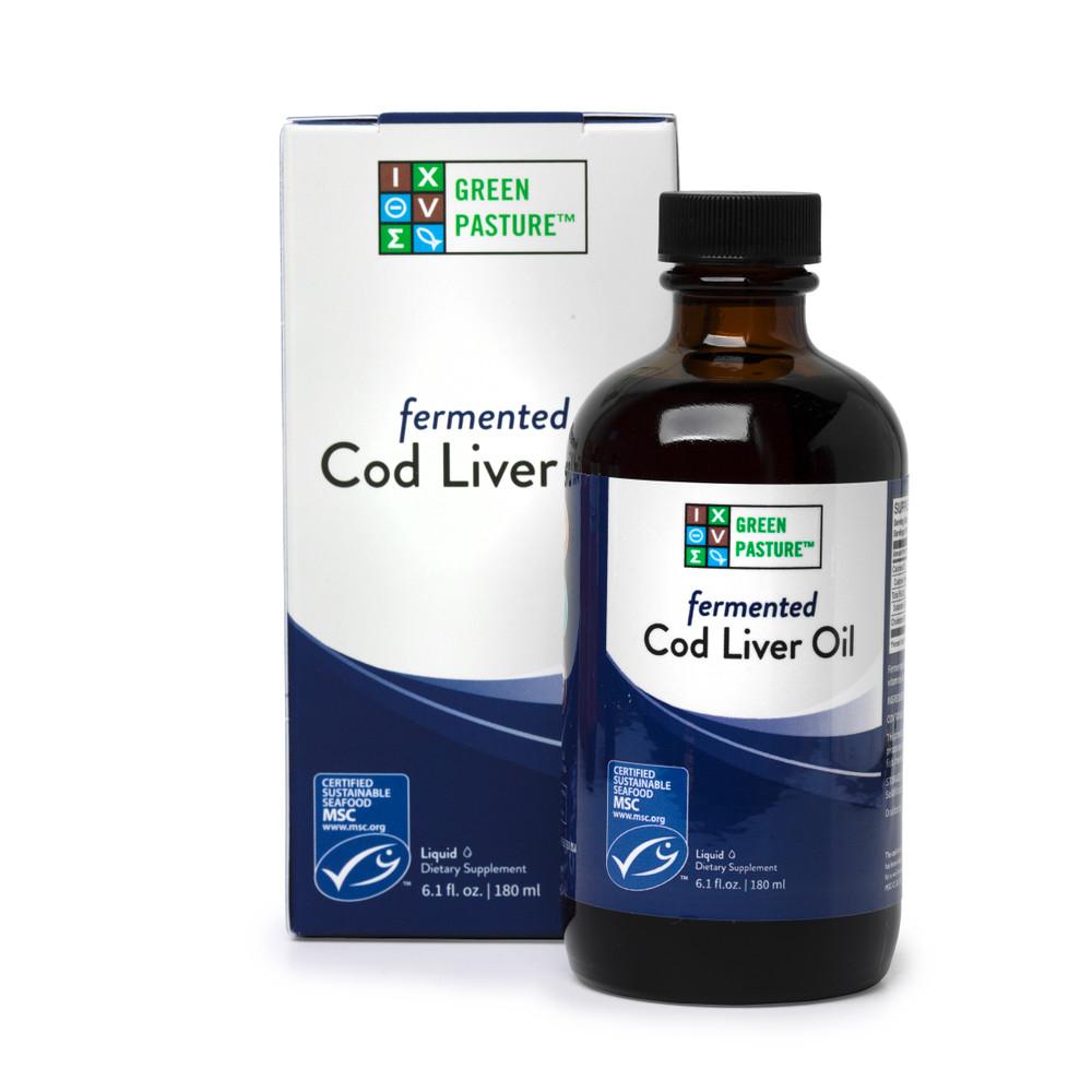 Blue Ice Fermented Cod Liver Oil: Liquid 180ml