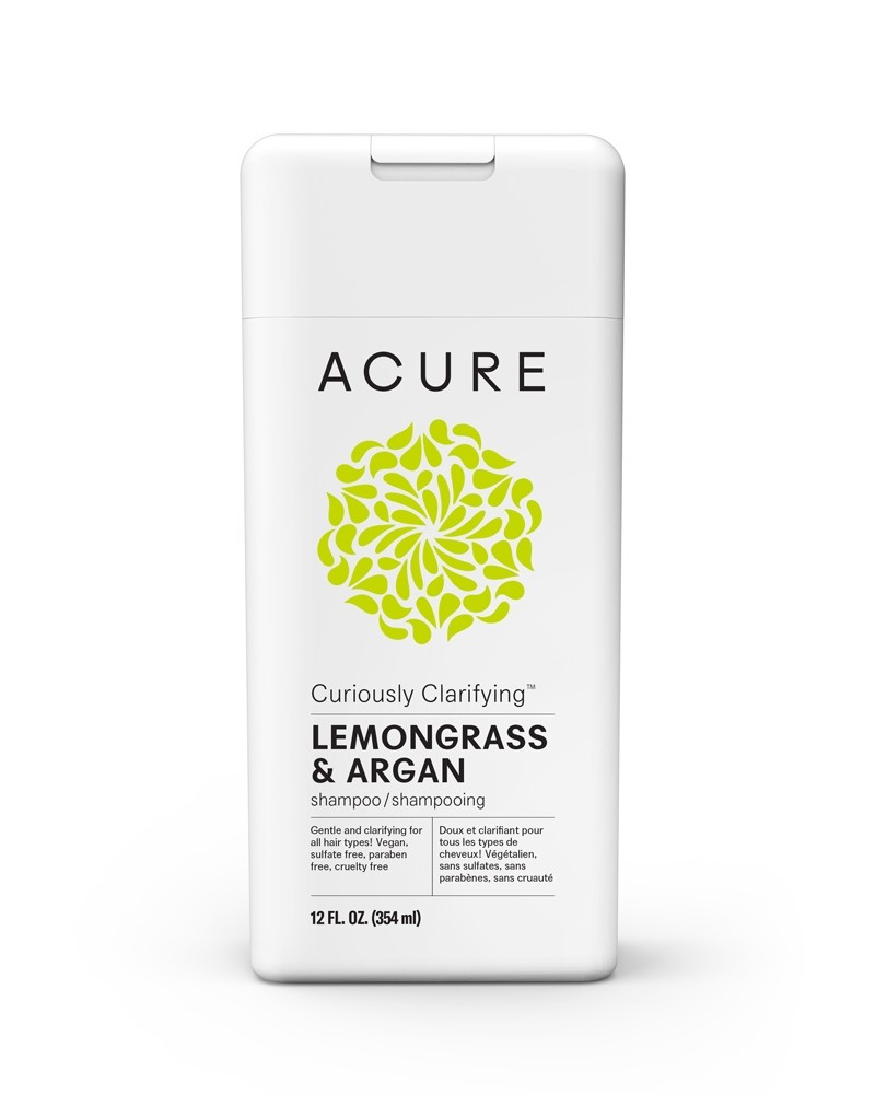 ACURE Curiously Clarifying Lemongrass & Argan Shampoo - 354ml