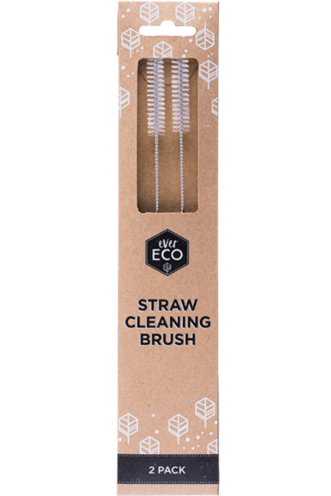 Eco straw cleaning brush 2 Pk