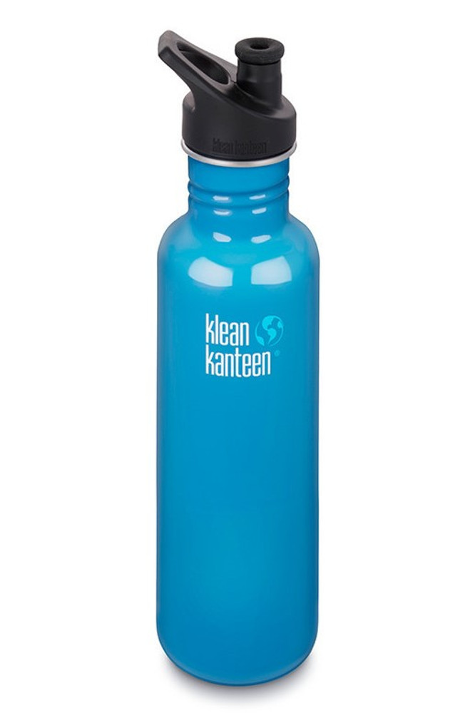 BRIGHT BLUE Sports Classic Water Bottle: 800ml (27oz)