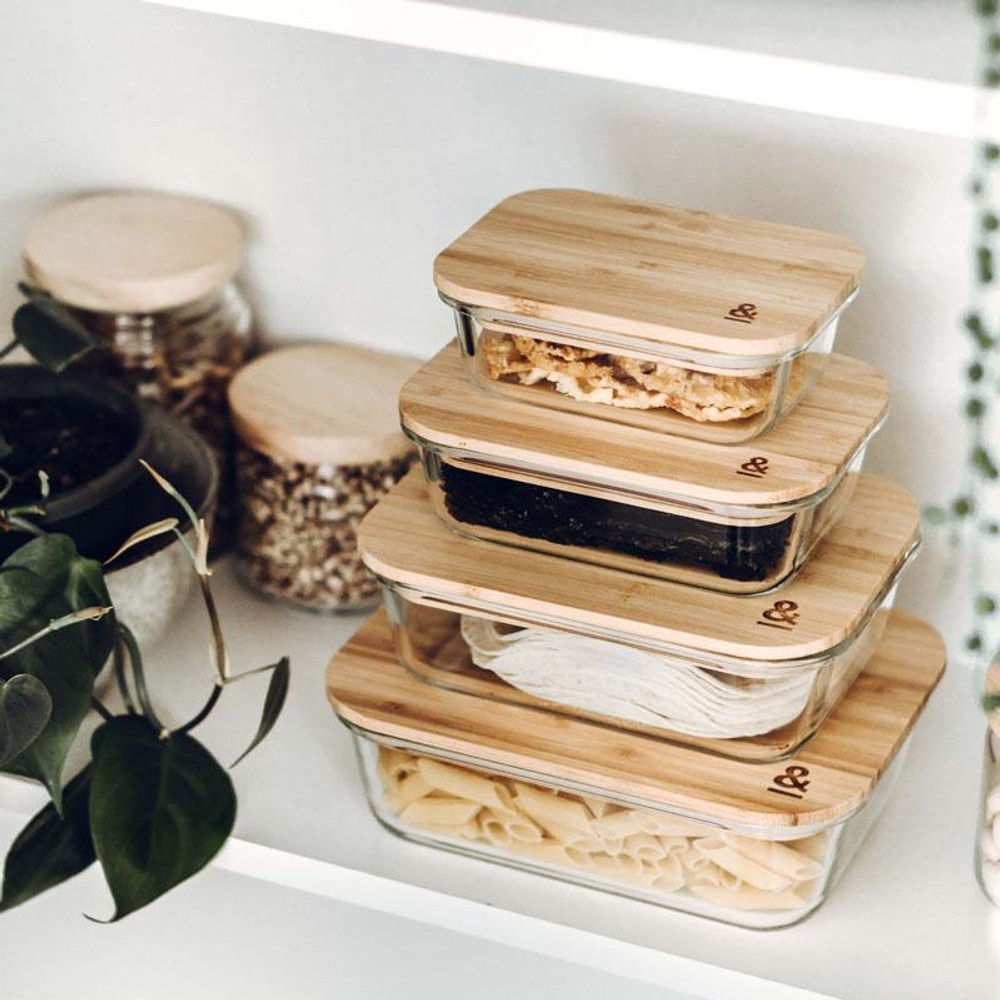 Eco Stow Set Storage Containers: Set of 4