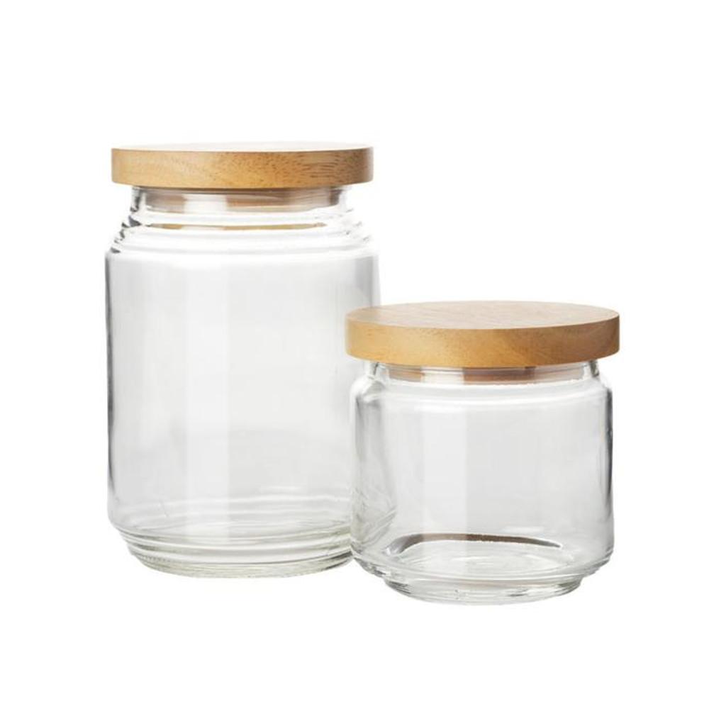PANTRY JARS: Set of 2