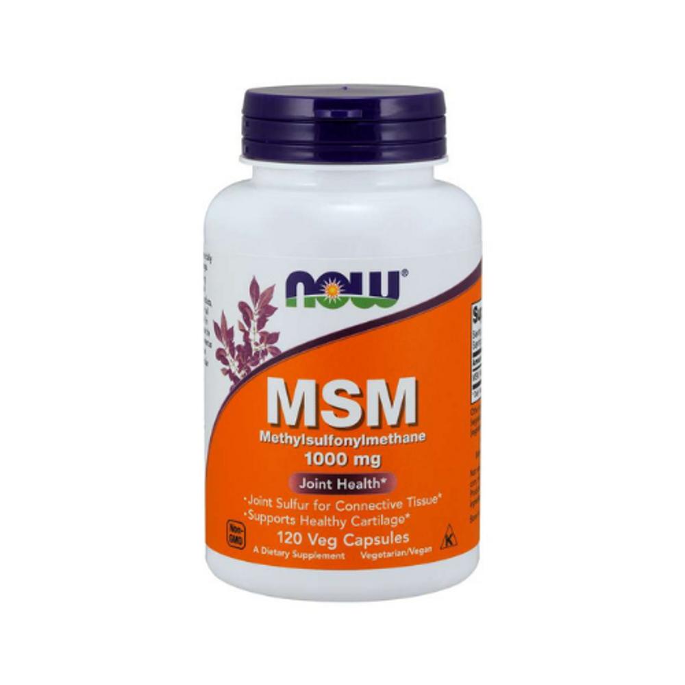 MSM - Methyl Sulfonyl Methane 1000mg - 120 Capsules
