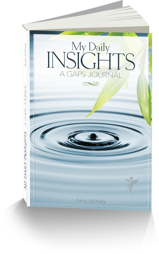 My Daily Insights: UA GAPS Journal Log (template pages)