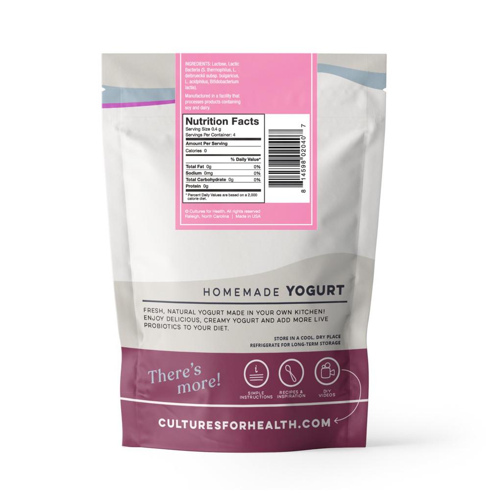 Traditional Probiotic Yoghurt Starter