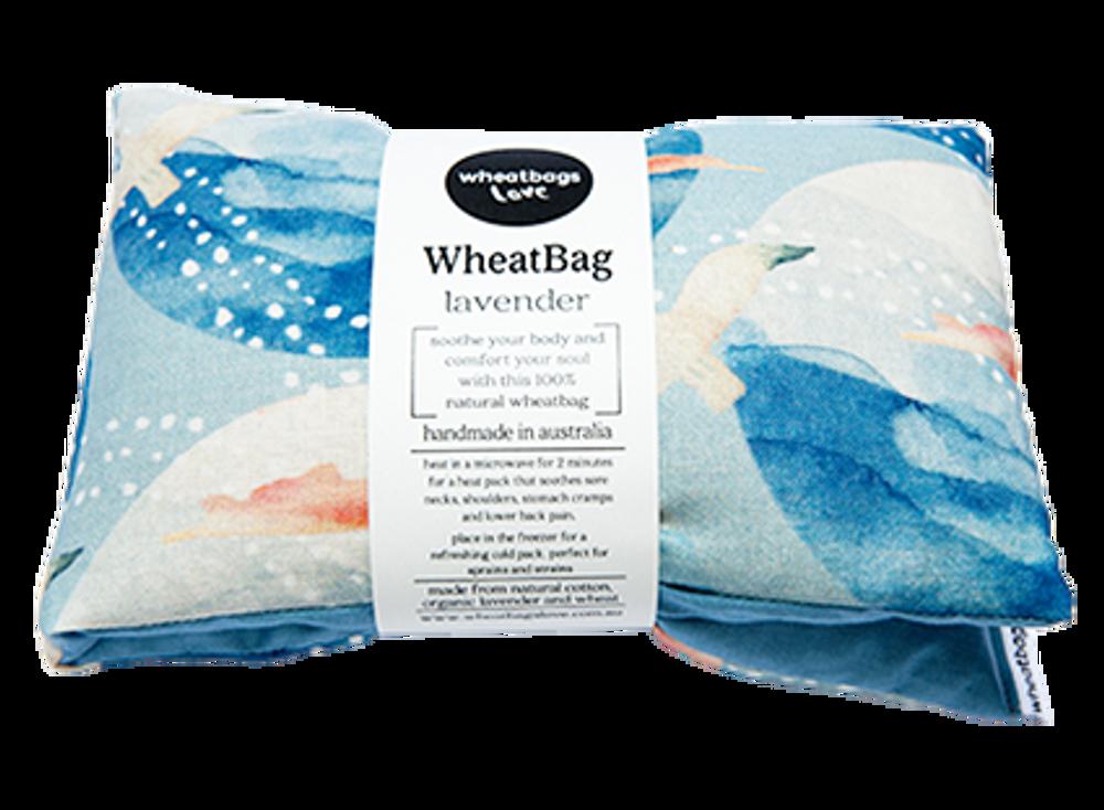 Wheatbag Seaside: Natural Cotton, Organic Lavender, Wheat
