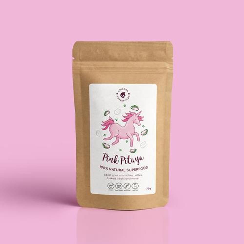 Pink Pitaya Powder - 100% freeze dried: 70g