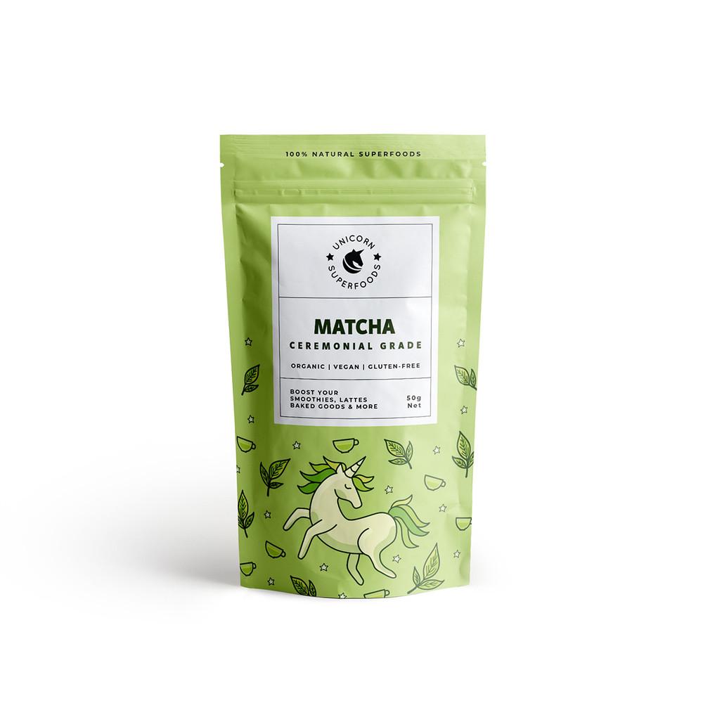 Organic Ceremonial Matcha Powder - 100% Natural: 70g