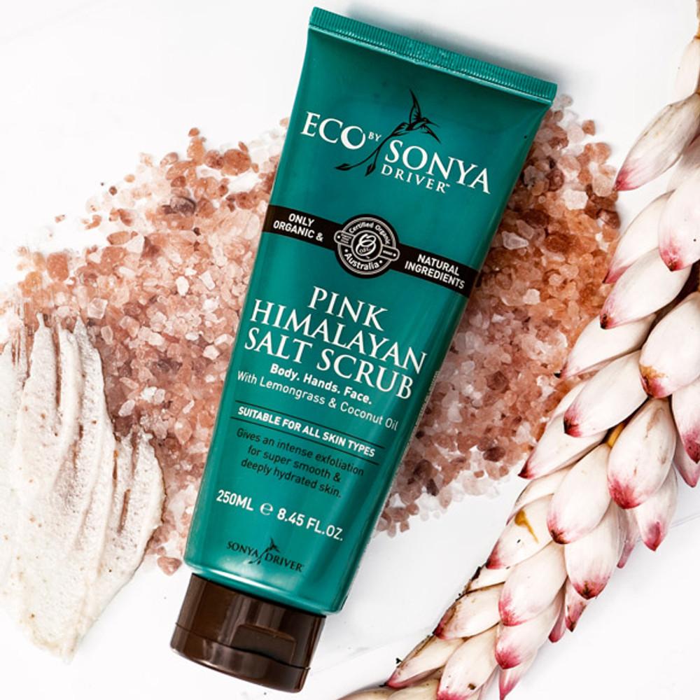 Organic Pink Himalayan Salt Scrub: 150ml Spray