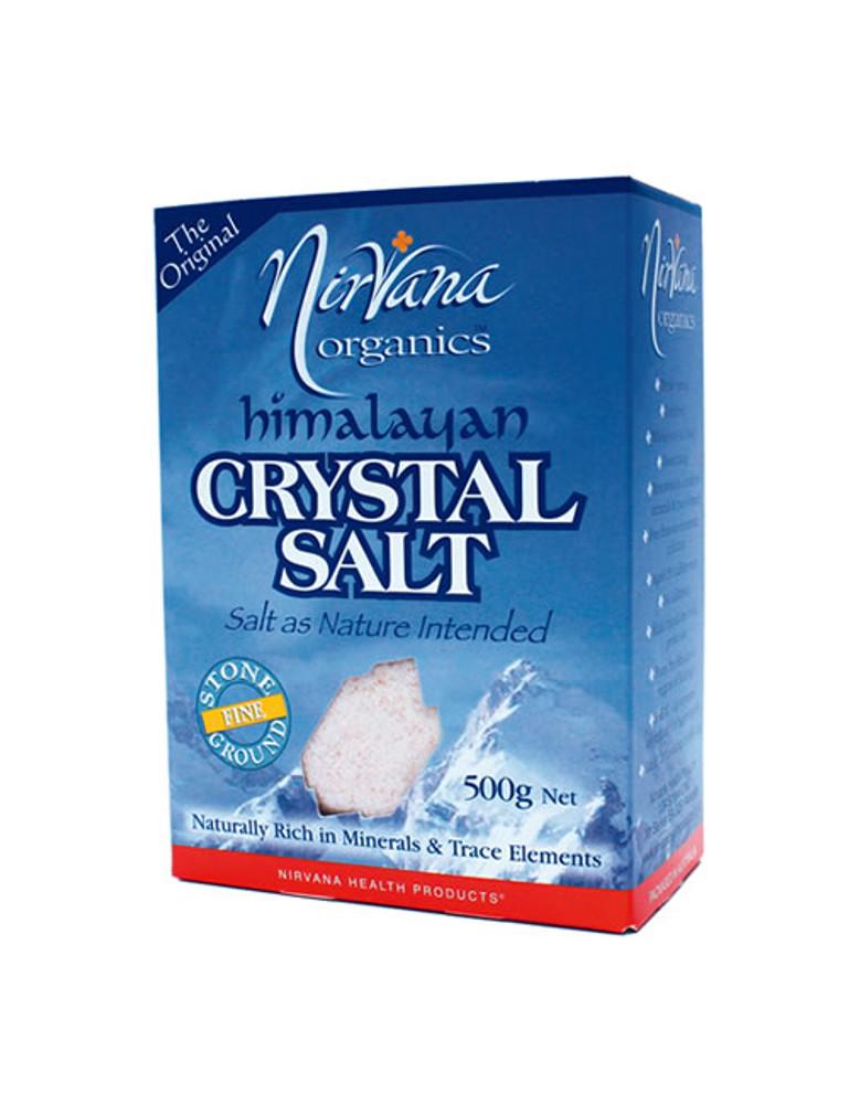 Himalayan Crystal Salt: Stone Ground Pack – FINE, 500g