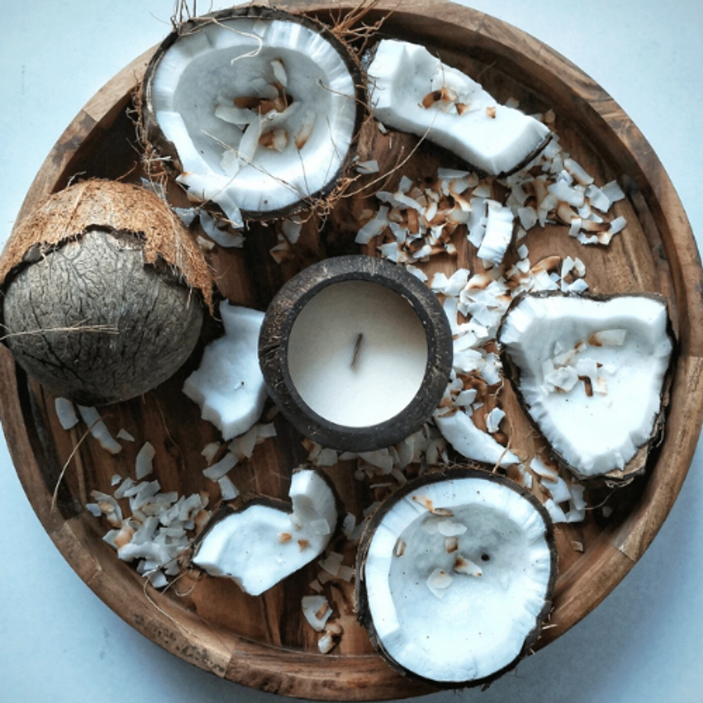 Toasted Coconut - Coconut Soy Candle