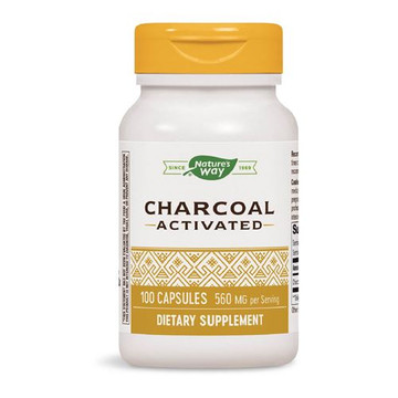 Activated Charcoal 100 Capsules