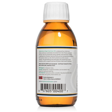 *Rosita's Extra Virgin Cod Liver Oil: RAW 150 ml