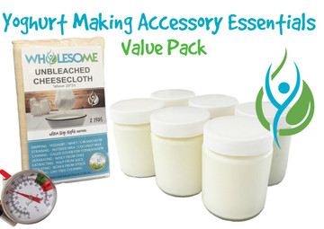 The Yoghurt Making Accessory Essentials Value Pack
