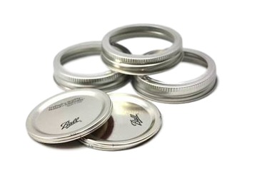 12 BPA FREE MASON JAR LIDS FOR WIDE MOUTH JARS