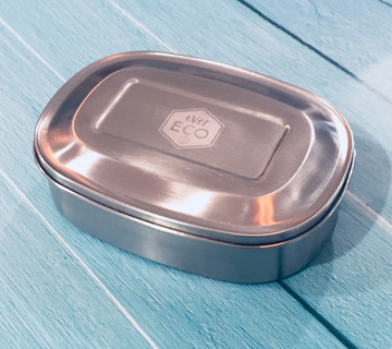 Stainless Steel Eco Lunch Box: Triple compartment