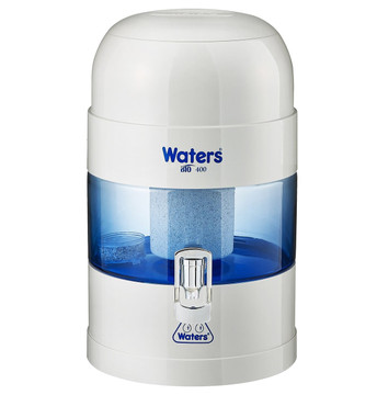 Benchtop Water Filter: BIO 400 WHITE / GREY 5.25 Litre