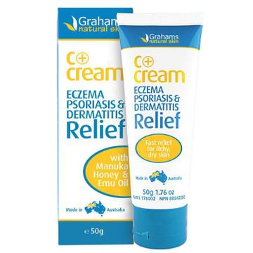 C+Cream - Eczema & Dermatitis Cream (LRG):120g