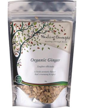 Healing Concepts Organic Ginger Tea 50g