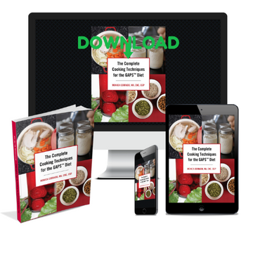 The Complete Cooking Techniques for the GAPS Diet: By Monica Corrado PDF DOWNLOAD ONLY