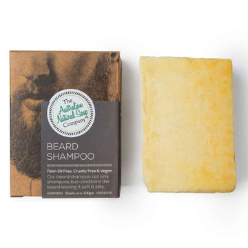 Natural Beard Care Pack: Nourishing cleansing beard oil & shampoo