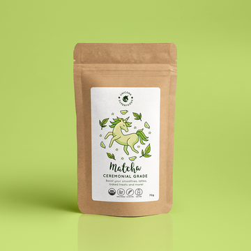 Organic Ceremonial Matcha Powder - 100% Natural: 70g