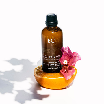 Organic Face Tan Water: 200ml Bottle