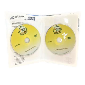 Cooking with GAPS DVD: 2 Disks - SALE Price