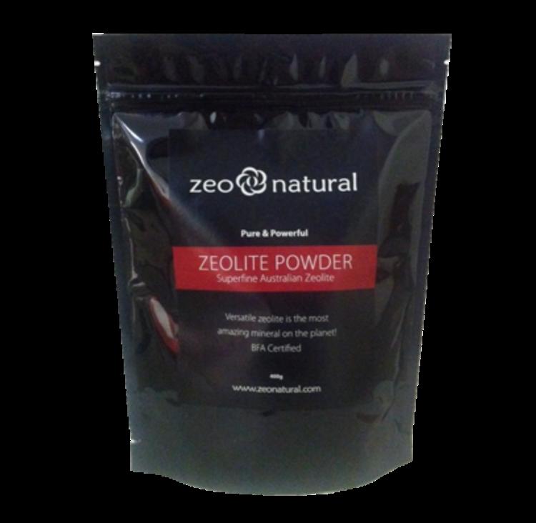 Certified Organic ZEOLITE Powder 400grams