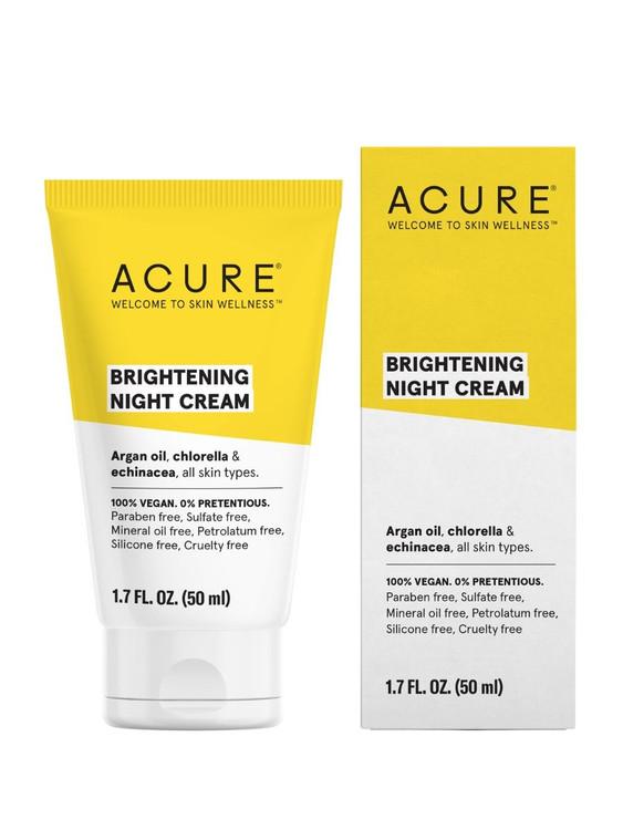 ACURE Brightening Night Cream - 50ml
