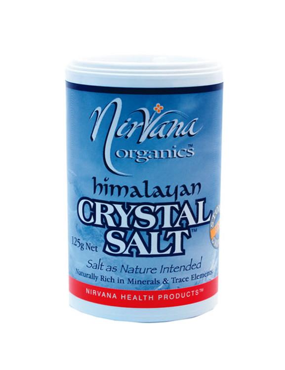 Himalayan Crystal Salt SHAKER: 125g