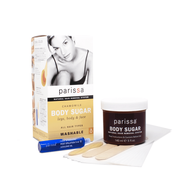 Parissa Natural Hair Removal System, Chamomile, Body Sugar - 140ml