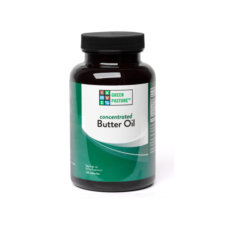 Concentrated Butter Oil (120 CAPSULES)